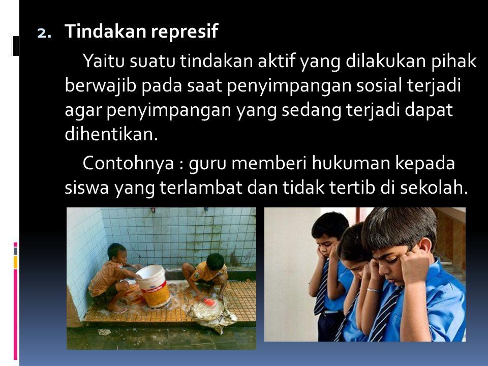 Tindakan represif
