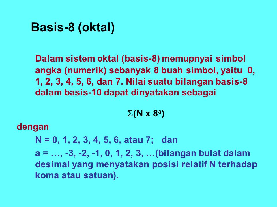 Basis-8 (oktal)