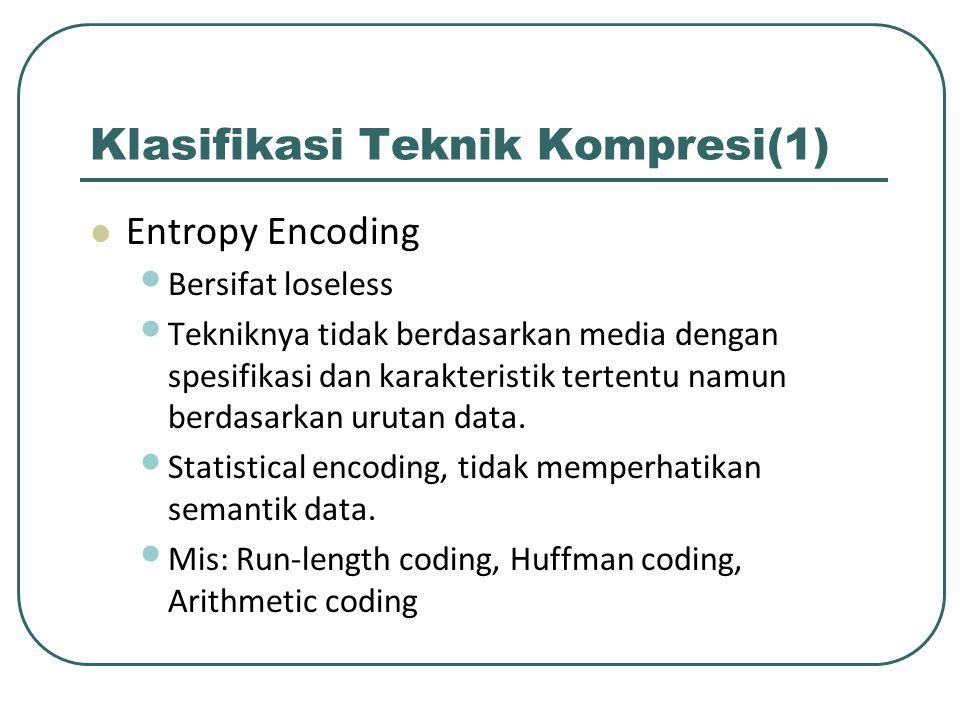 Klasifikasi Teknik Kompresi(1)