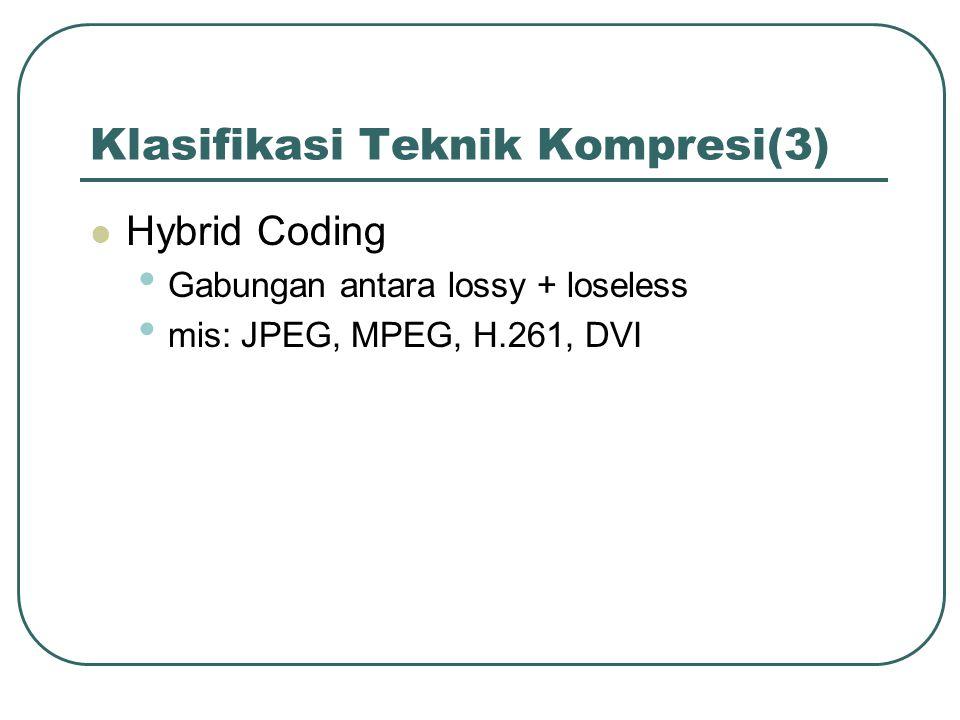 Klasifikasi Teknik Kompresi(3)