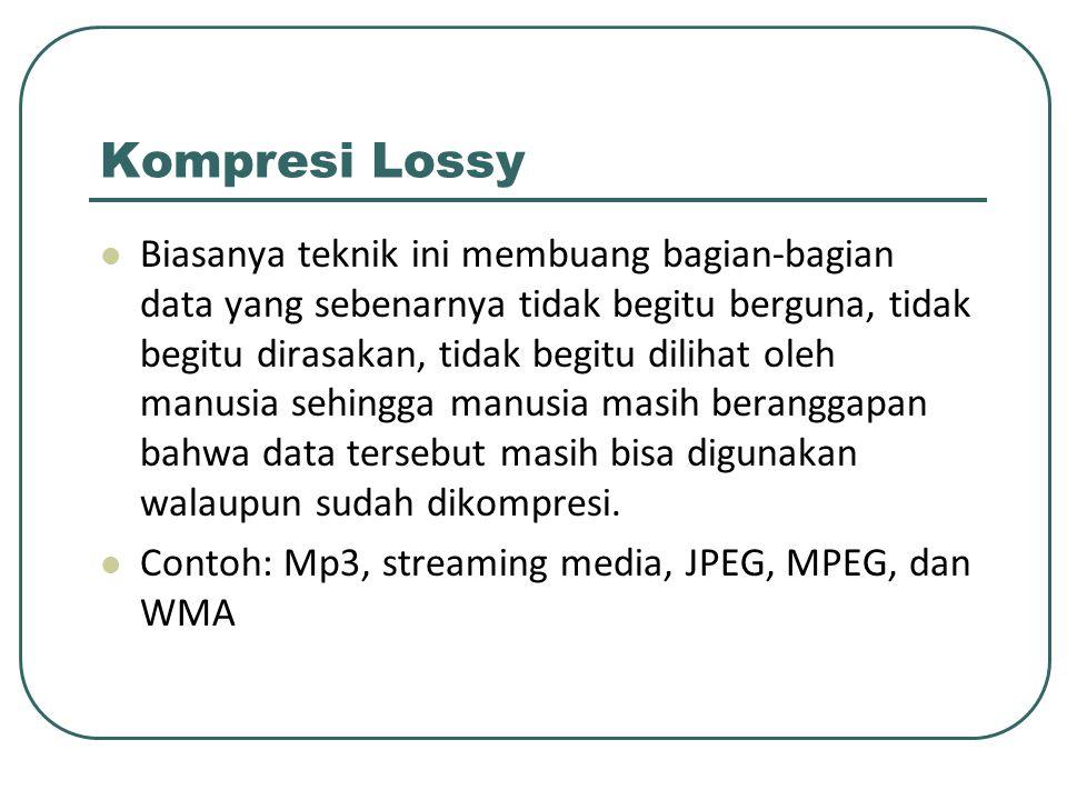 Kompresi Lossy
