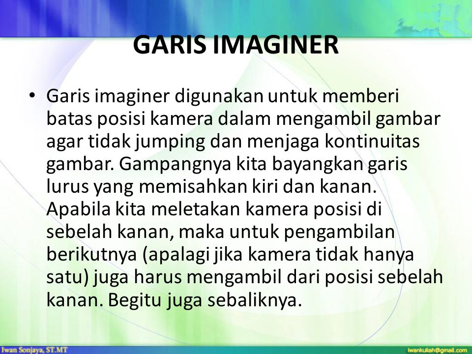 GARIS IMAGINER