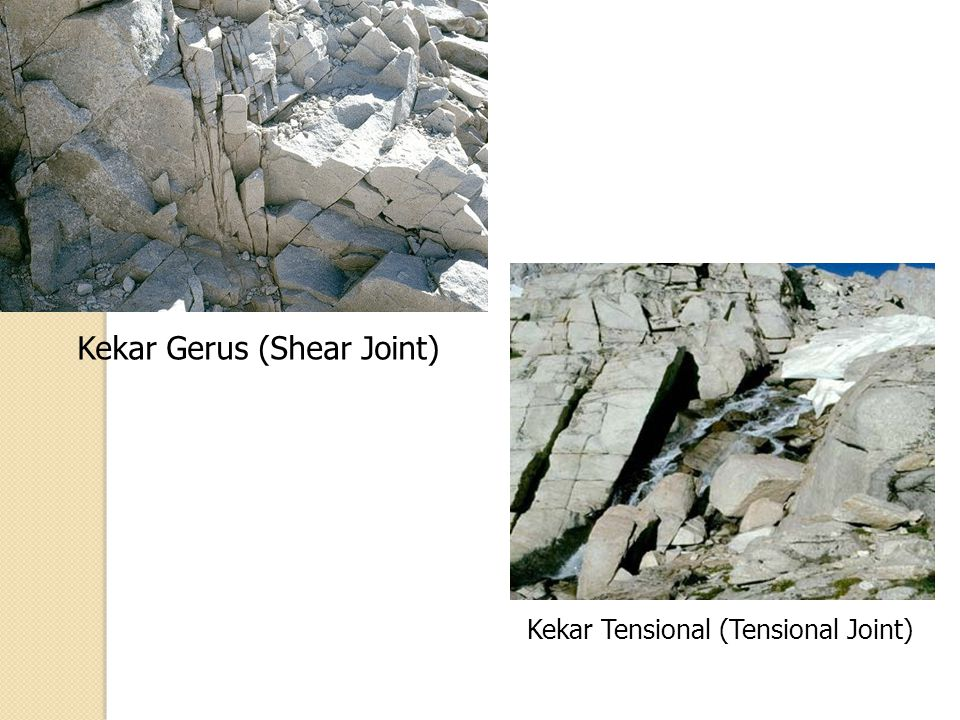 Kekar Gerus (Shear Joint)