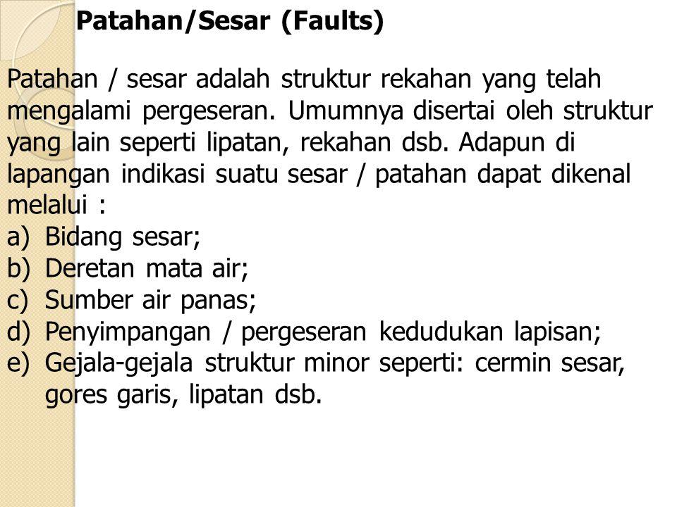 Patahan/Sesar (Faults)