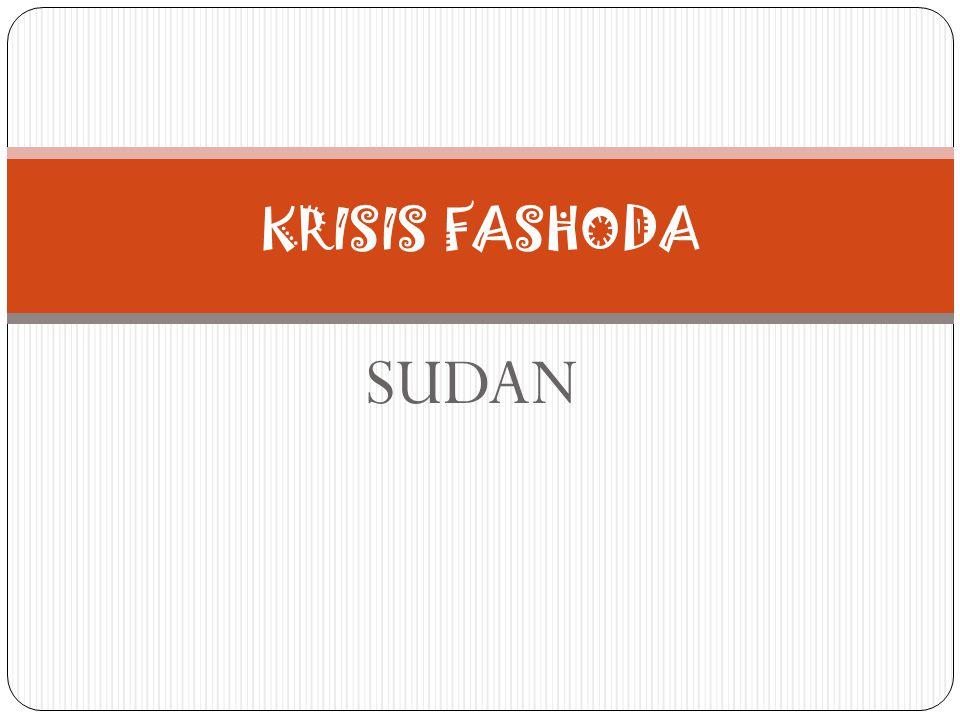 KRISIS FASHODA SUDAN