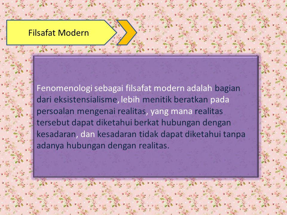 Filsafat Modern