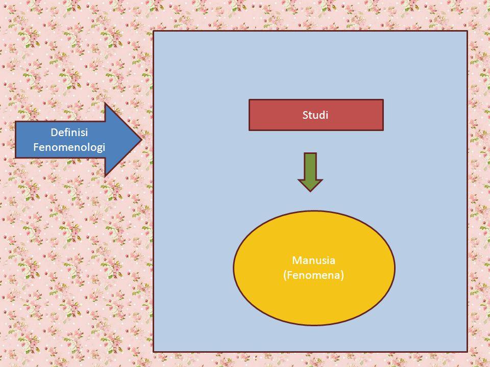 Definisi Fenomenologi
