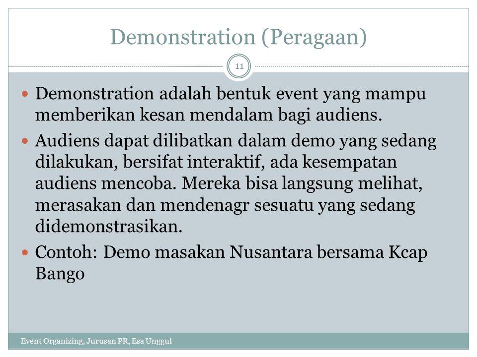 Demonstration (Peragaan)