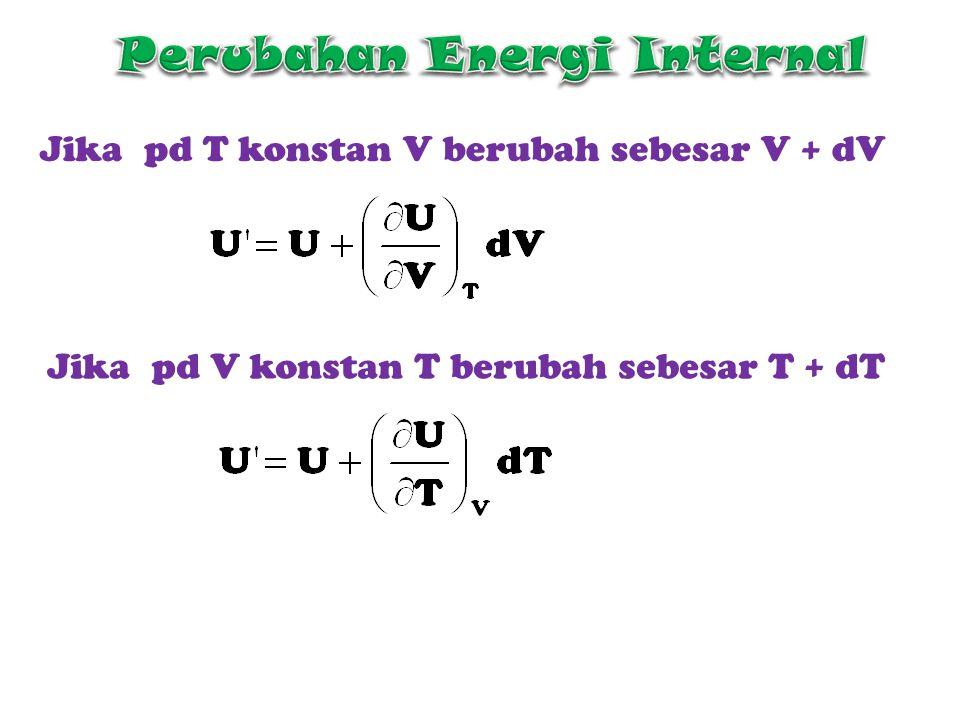 Perubahan Energi Internal