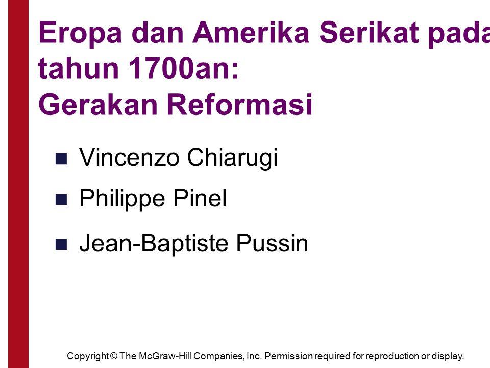 Eropa dan Amerika Serikat pada tahun 1700an: Gerakan Reformasi