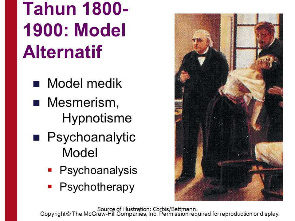 Tahun 1800-1900: Model Alternatif