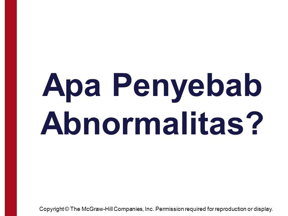 Apa Penyebab Abnormalitas