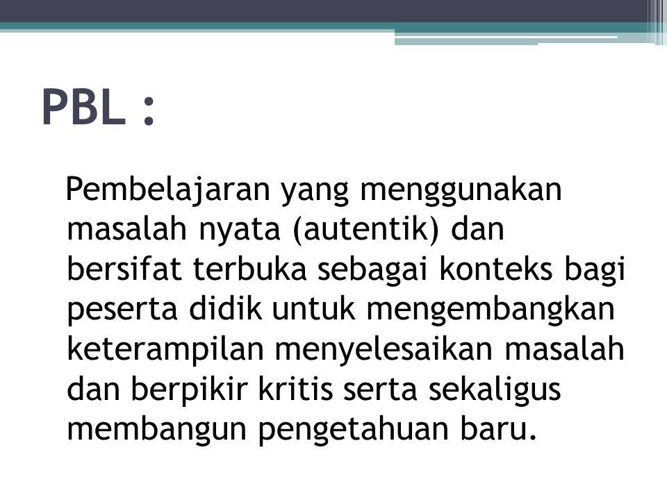 PBL :