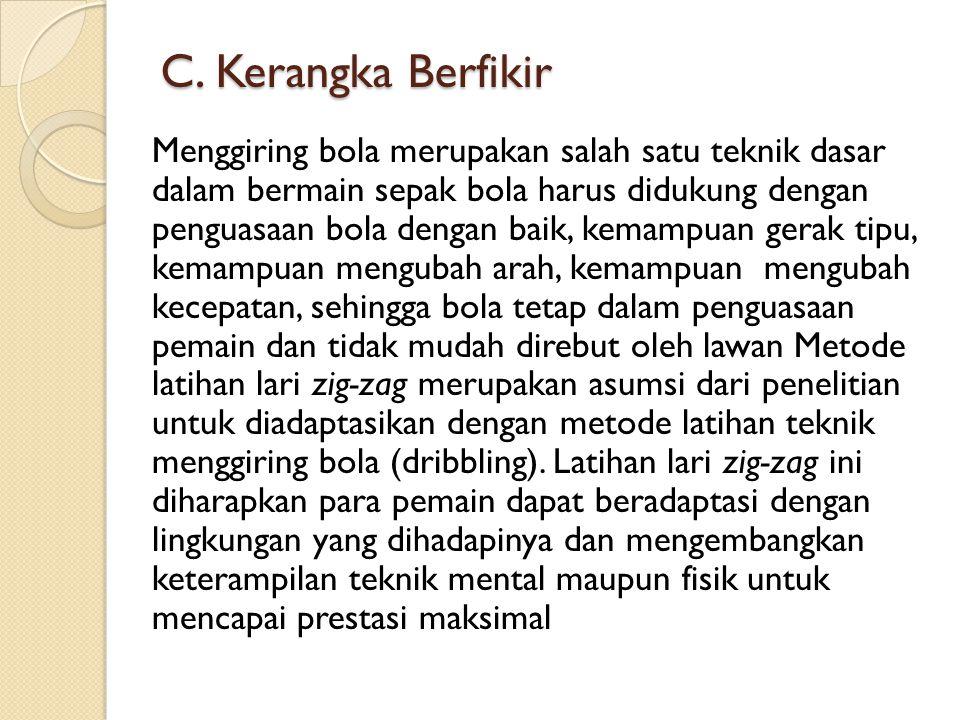 C. Kerangka Berfikir