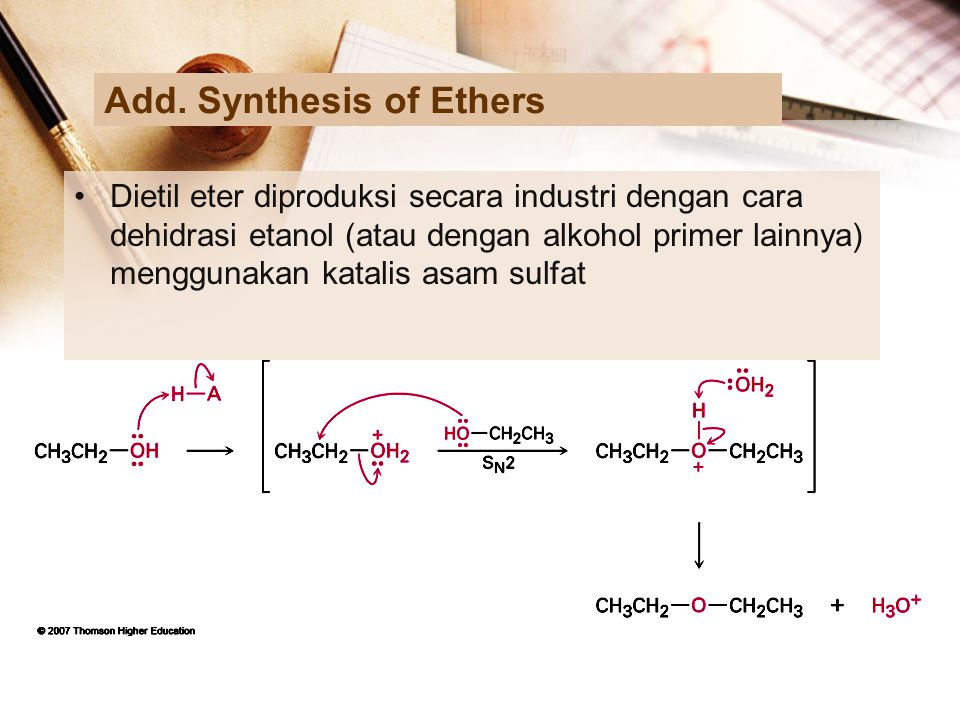 Add. Synthesis of Ethers
