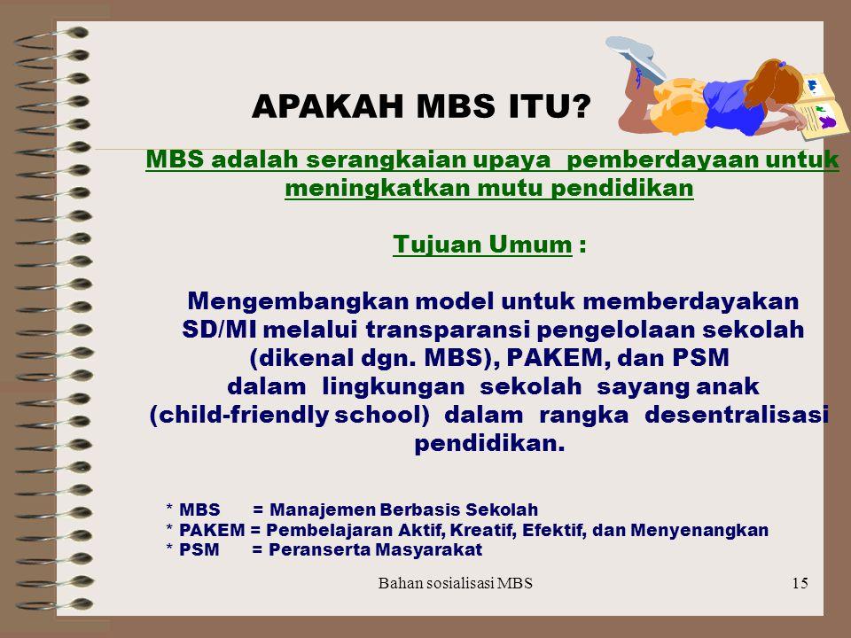 APAKAH MBS ITU