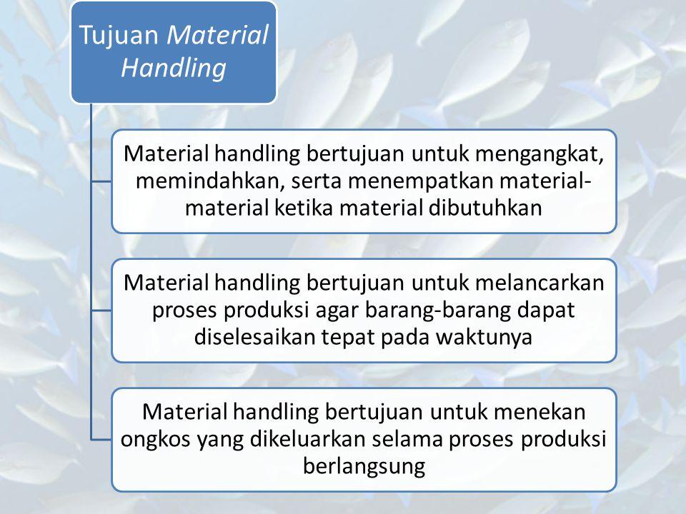 Tujuan Material Handling