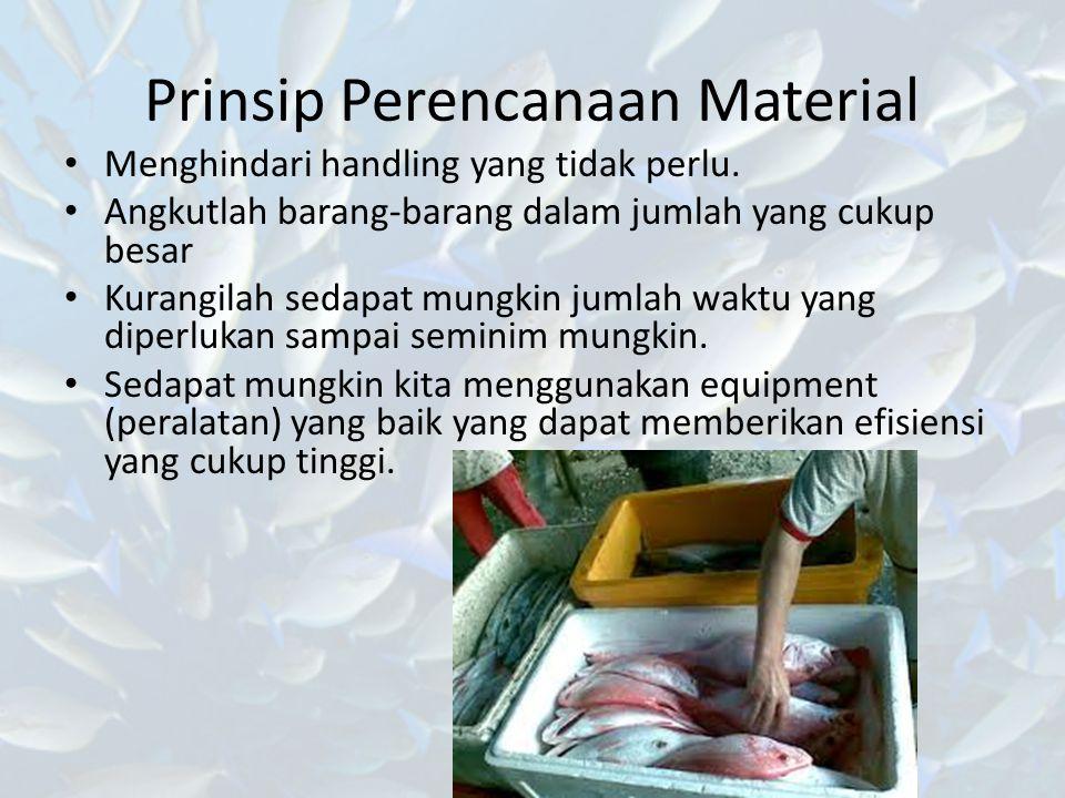 Prinsip Perencanaan Material