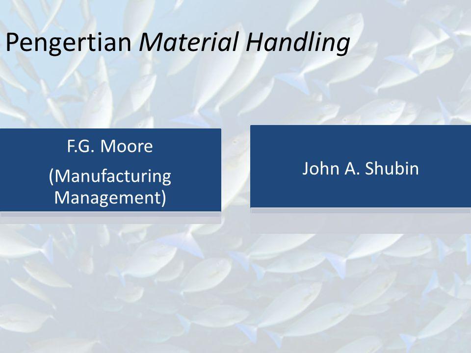 Pengertian Material Handling