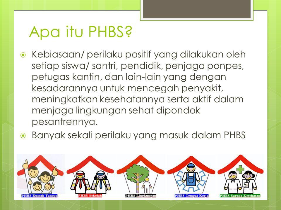Apa itu PHBS