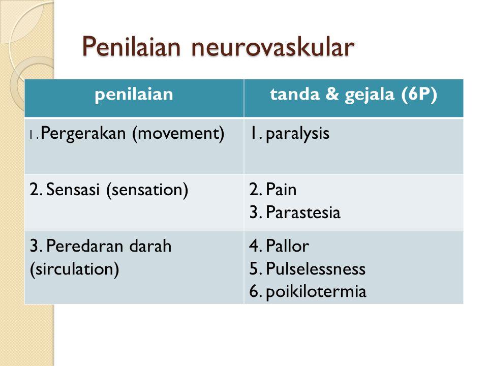 Penilaian neurovaskular