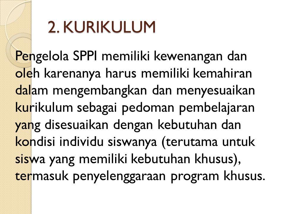 2. KURIKULUM