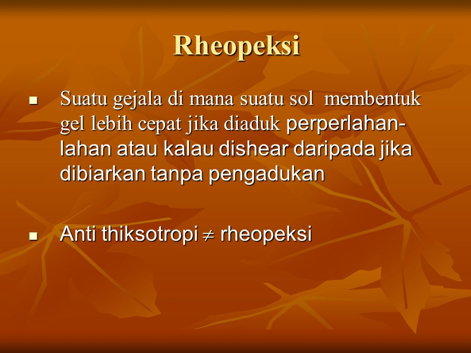 Rheopeksi
