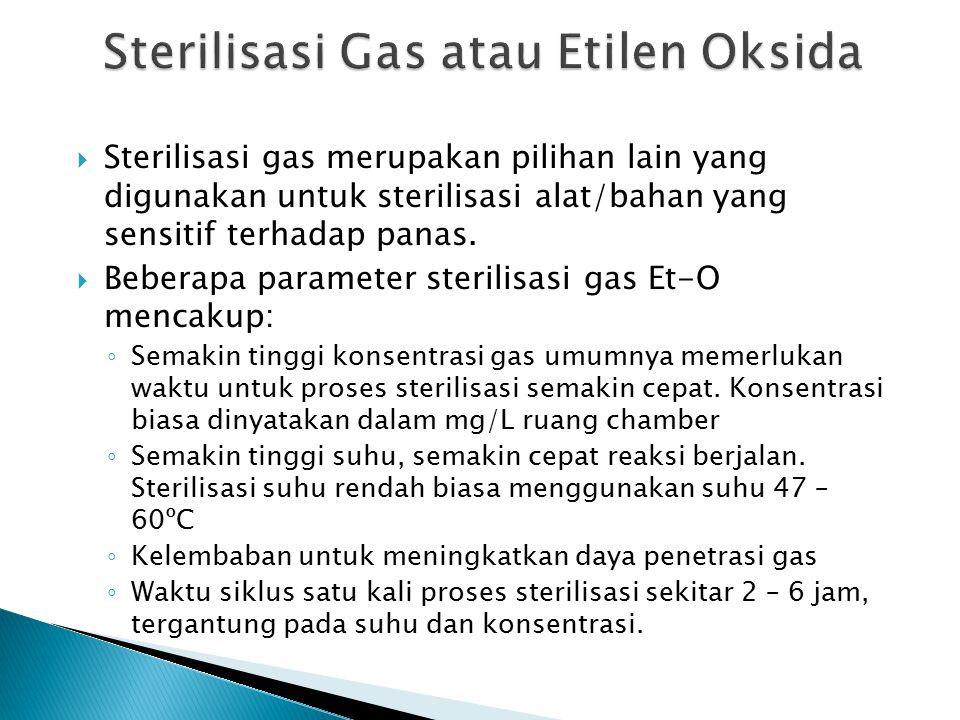 Sterilisasi Gas atau Etilen Oksida