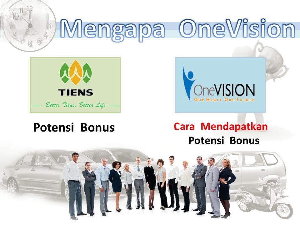 Mengapa OneVision Potensi Bonus Cara Mendapatkan Potensi Bonus