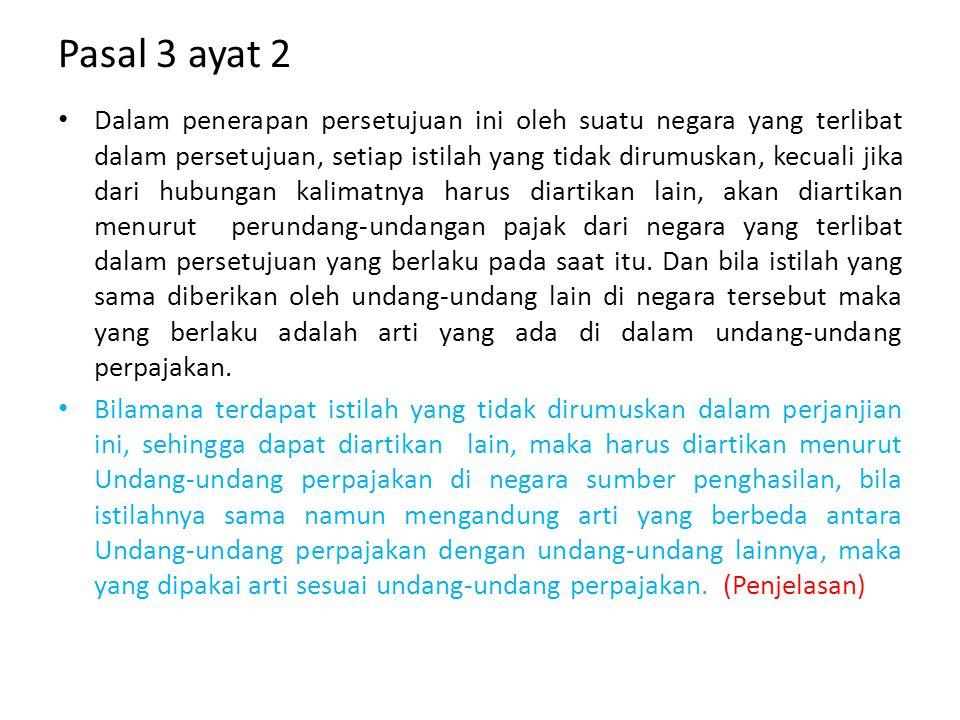 Pasal 3 ayat 2