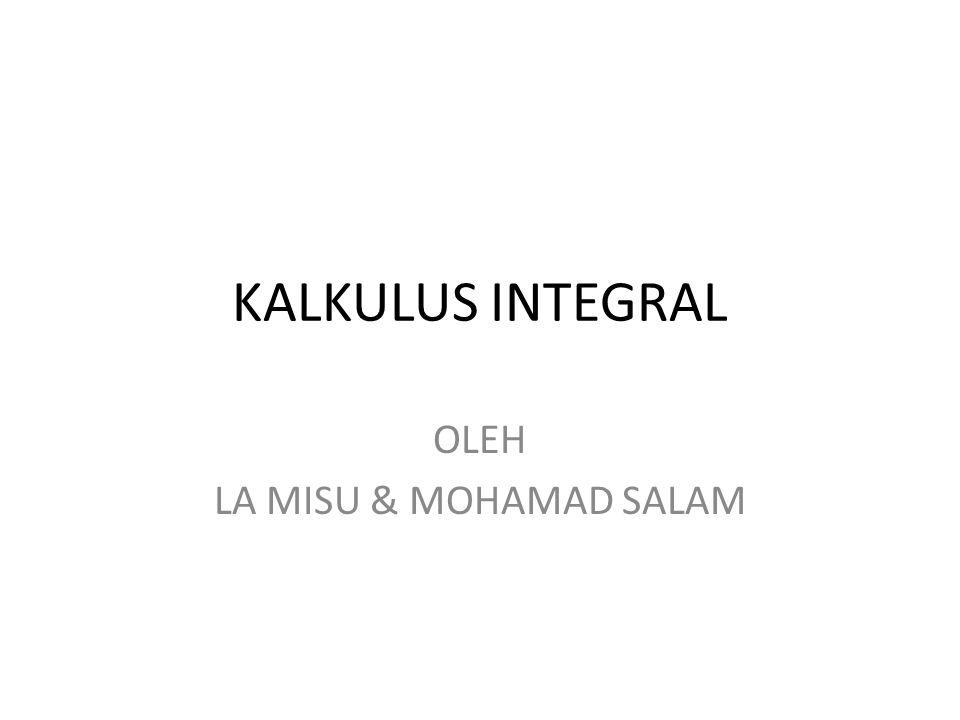 OLEH LA MISU & MOHAMAD SALAM