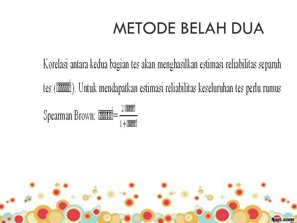 METODE BELAH DUA