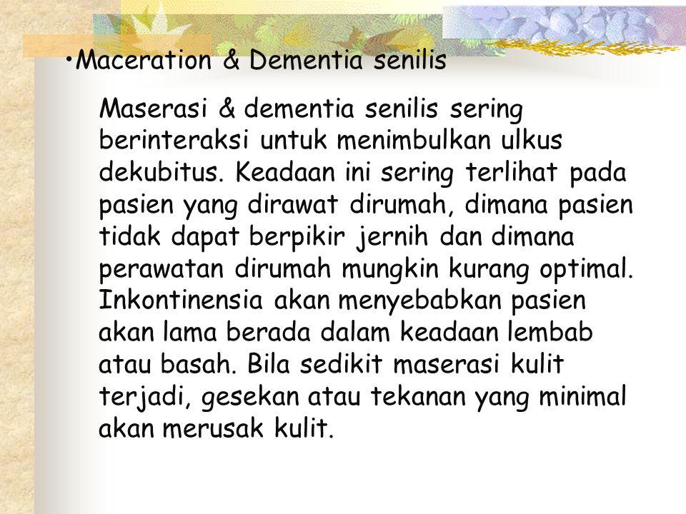 Maceration & Dementia senilis