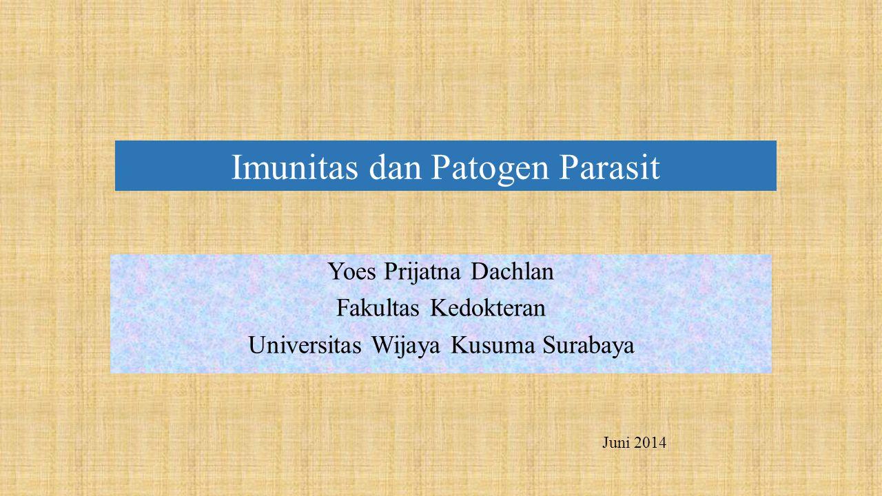 Imunitas dan Patogen Parasit
