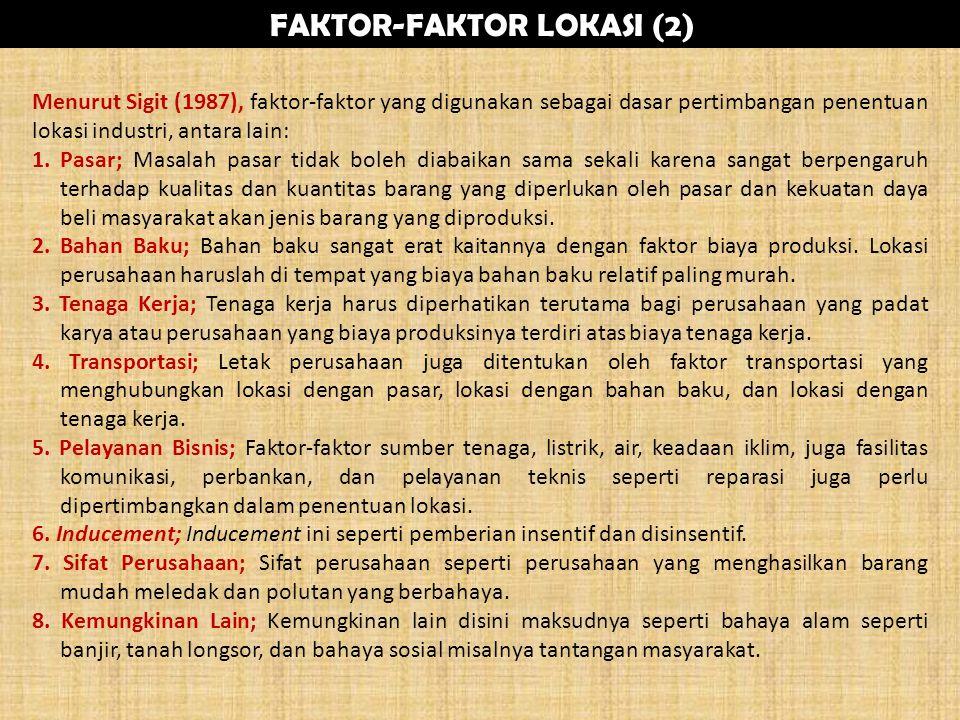FAKTOR-FAKTOR LOKASI (2)