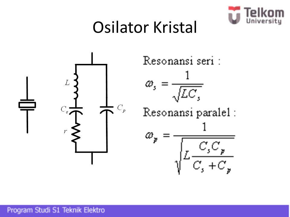 Osilator Kristal