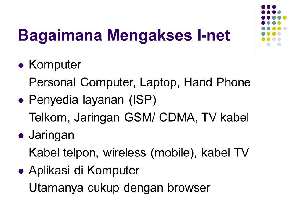 Bagaimana Mengakses I-net