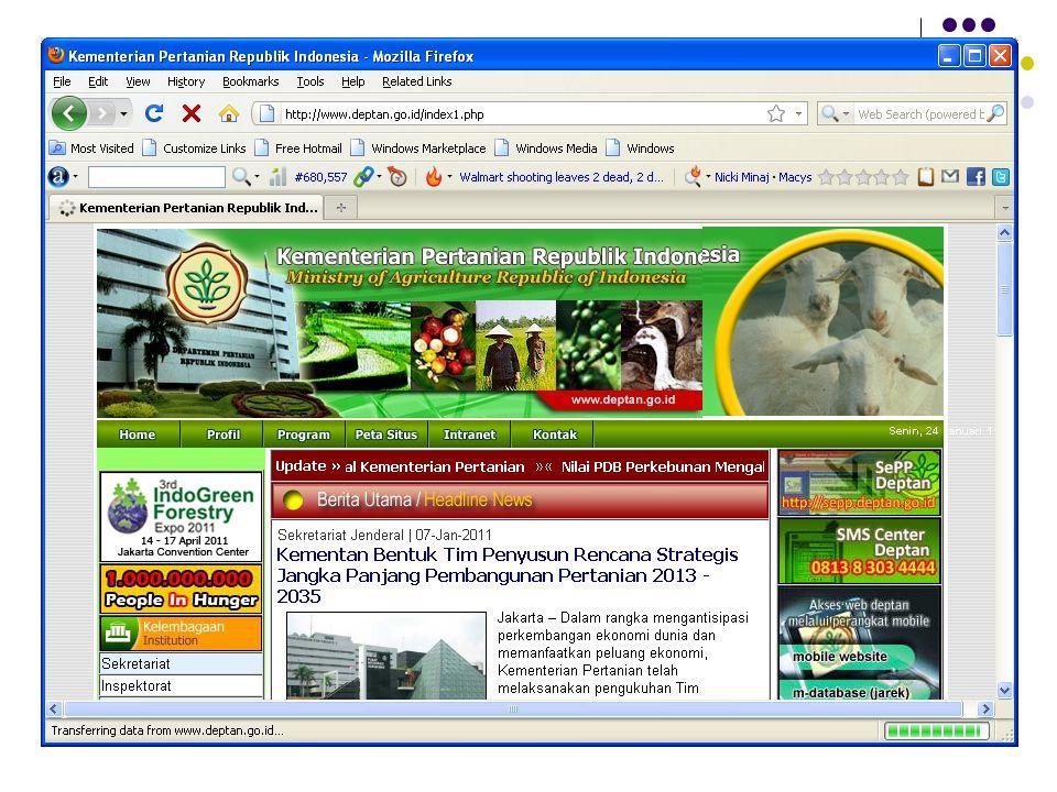 Situs Departemen Pertanian