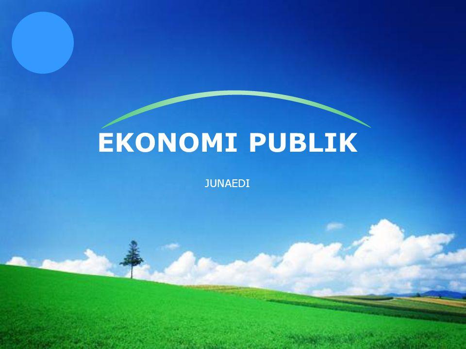 EKONOMI PUBLIK JUNAEDI