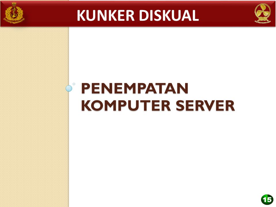 Penempatan KOMPUTER server