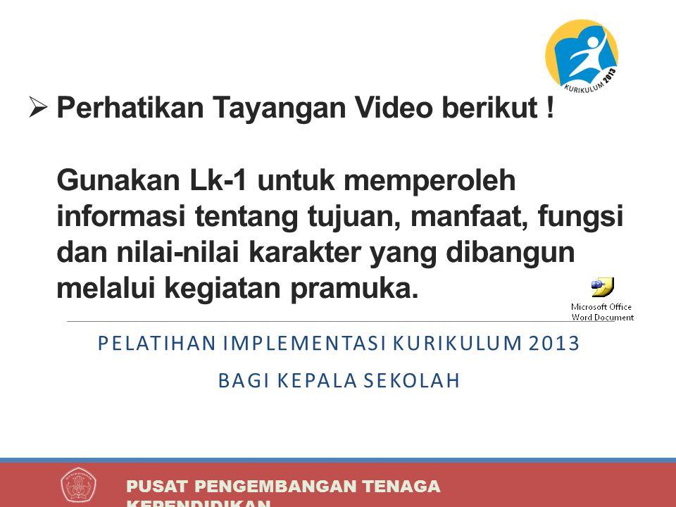 Perhatikan Tayangan Video berikut