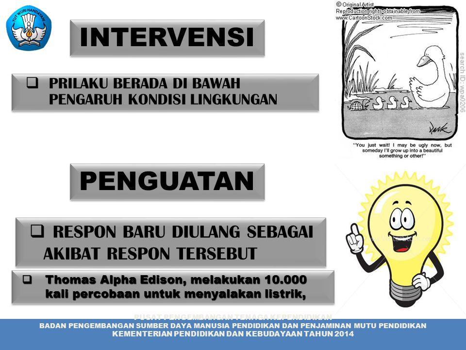 INTERVENSI PENGUATAN RESPON BARU DIULANG SEBAGAI