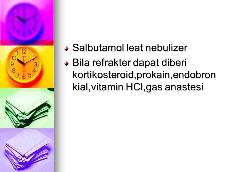 Salbutamol leat nebulizer