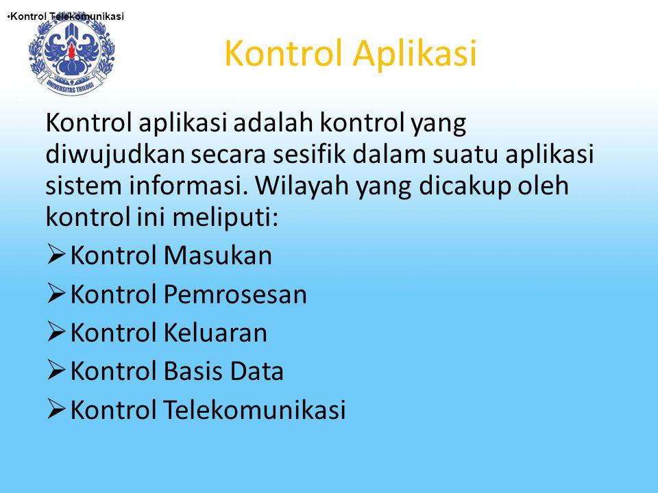 Kontrol Telekomunikasi