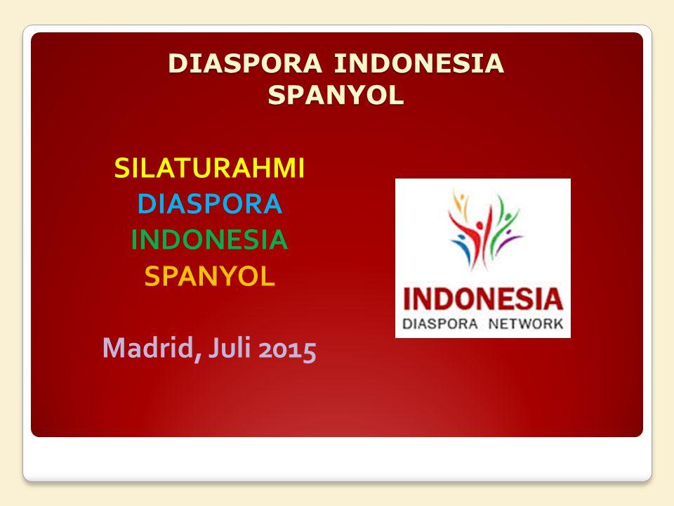 DIASPORA INDONESIA SPANYOL