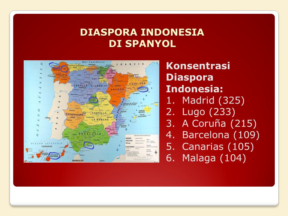 DIASPORA INDONESIA DI SPANYOL