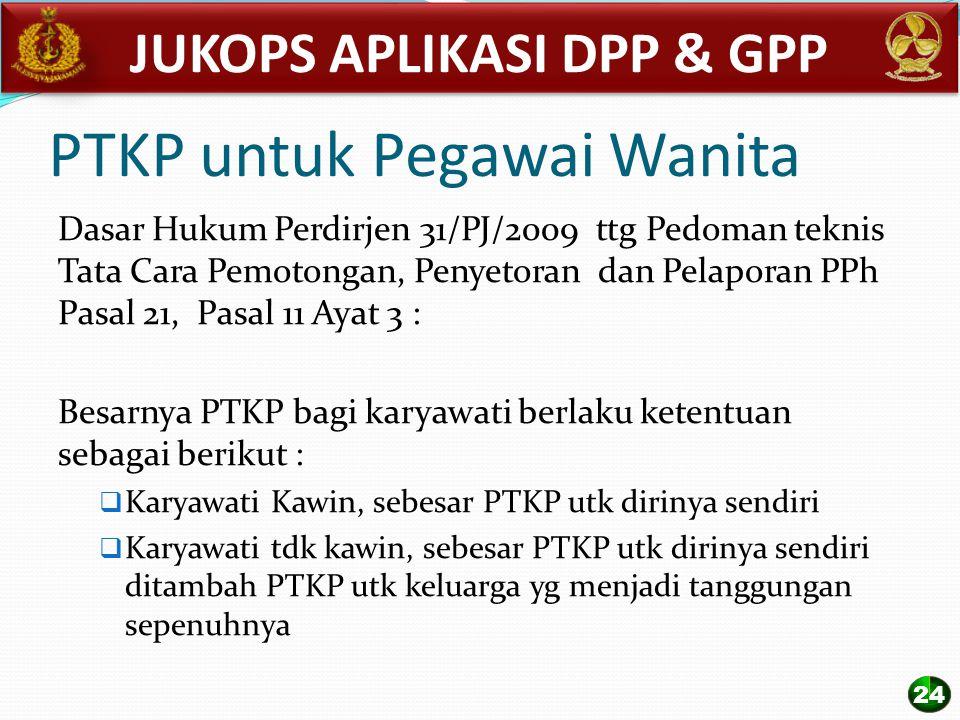 PTKP untuk Pegawai Wanita