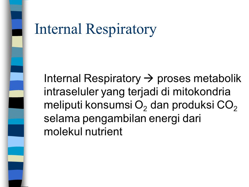 Internal Respiratory