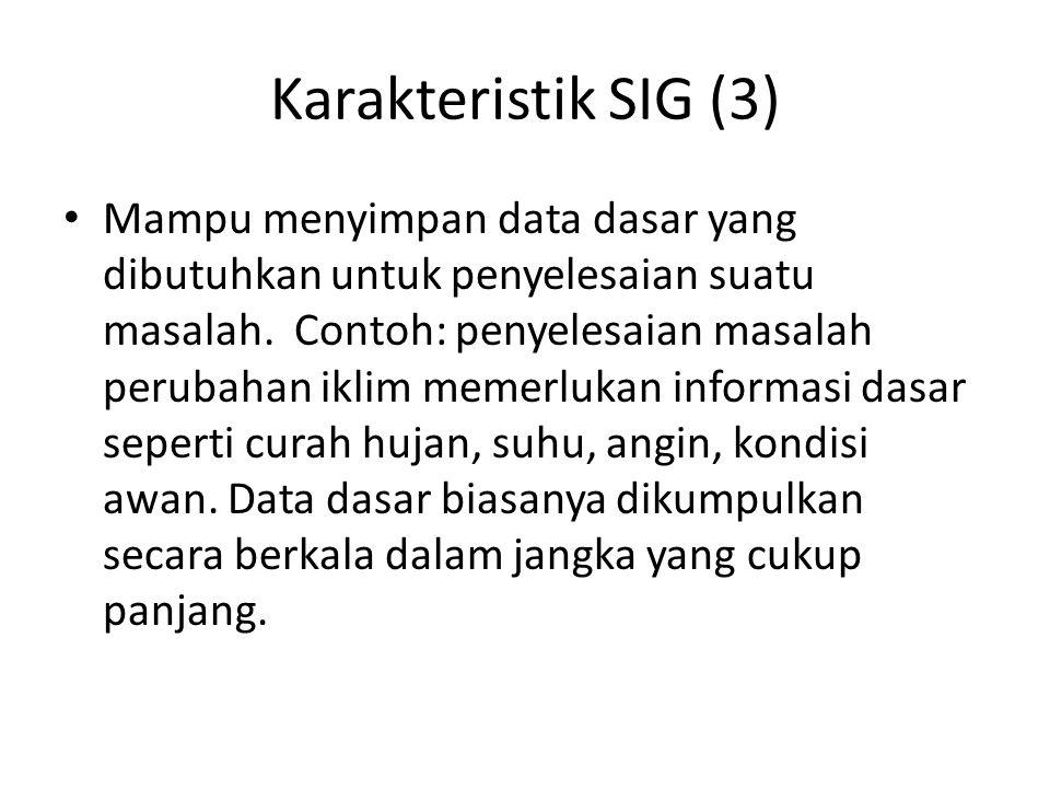 Karakteristik SIG (3)