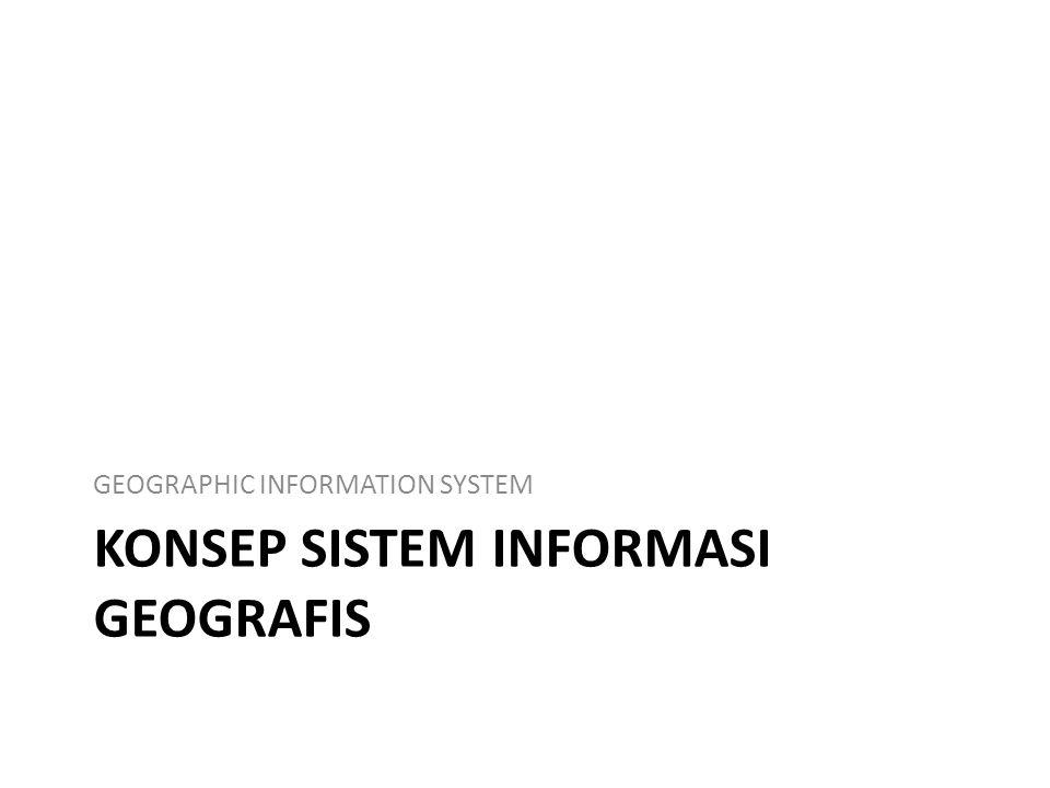 Konsep Sistem Informasi geografis